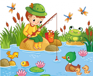 Fishing with Frogs and Toads lures