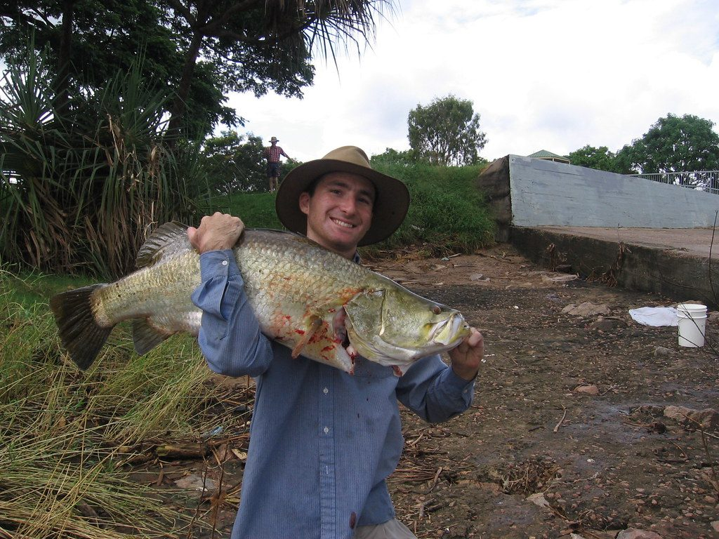 Barramundi Fishing in Lake Monduran