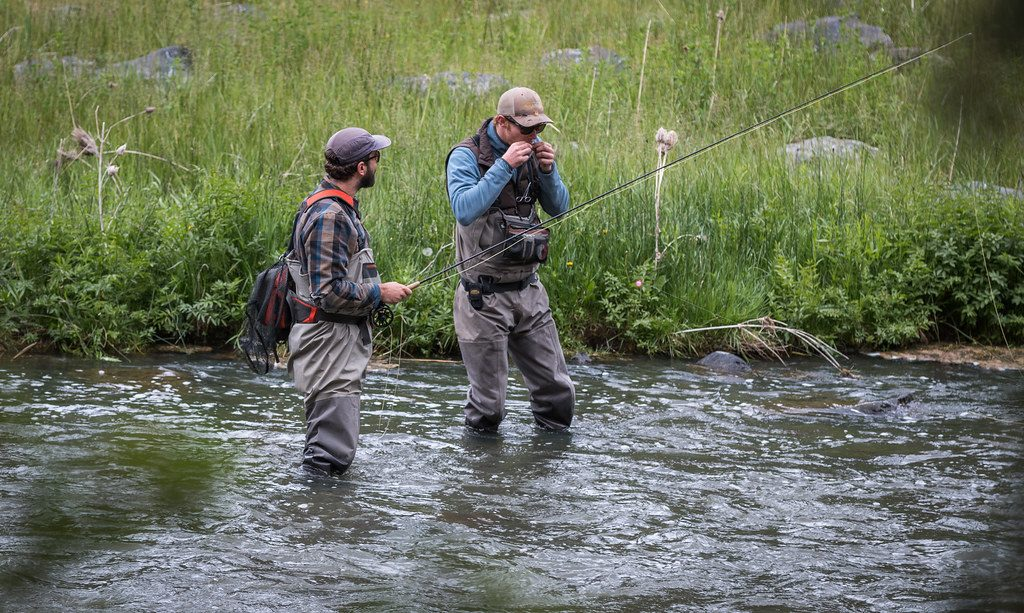 Fly Fishing Beginners Leaders, Line &Tippet