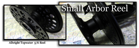 small arbor fly reels
