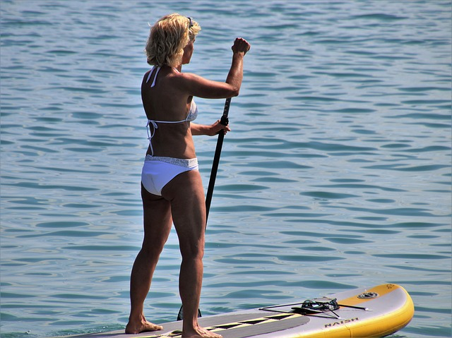 What is paddleboard?