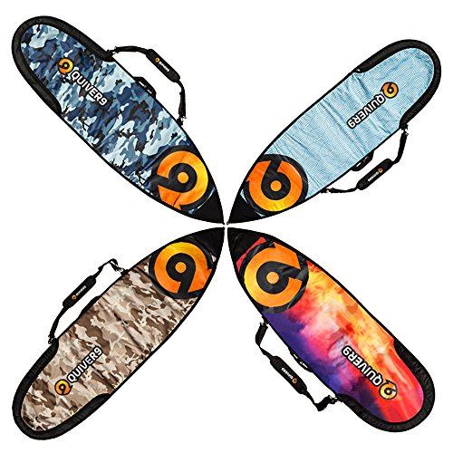 Quiver9 Surfboard travel cover for shortboards and fun boards