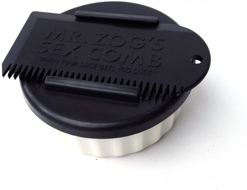 Sex Wax Container with Comb