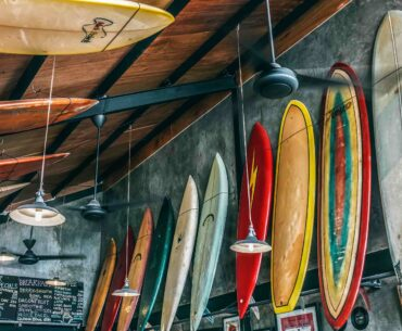 How to Hang a Surfboard on a Wall?